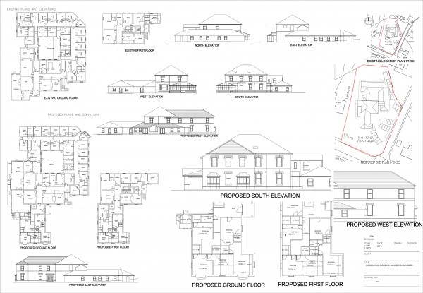 The old vicarage care home extension alteration 01 Layout1